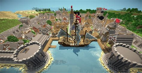 port town baystone port town minecraft project