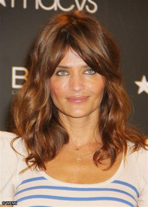 what is jane long favorite color helena christensen hair and hair color on pinterest