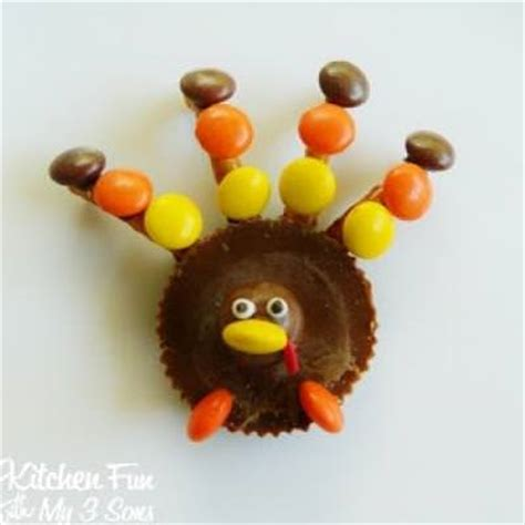 turkey from edible crafts tip junkie
