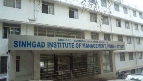 Mba In Goa Institute Of Management by Sinhgad Institute Of Management Siom Pune Admission