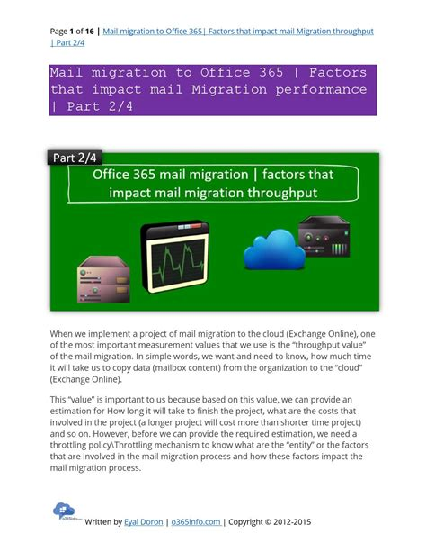 Office 365 Mail Api C Mail Migration To Office 365 Factors That Impact Mail