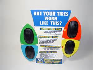 Vehicle Alignment Tire Wear N O S 1960s Moog Alignment Tire Wear Service Garage
