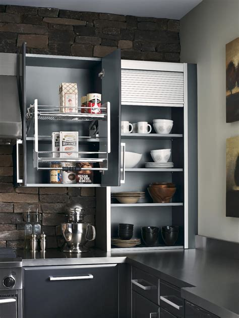 kitchen cabinet pull down shelves pantries for an organized kitchen diy