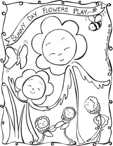 coloring page sunny day free coloring pages of sunny