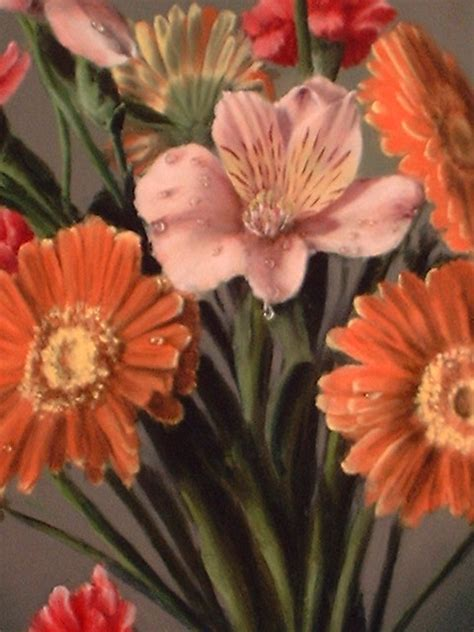 Acrylic Square Vase How To Paint Flowers Like You Mean It