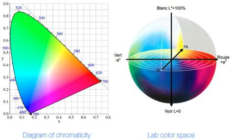 L Colored by Color Spaces In Color Management