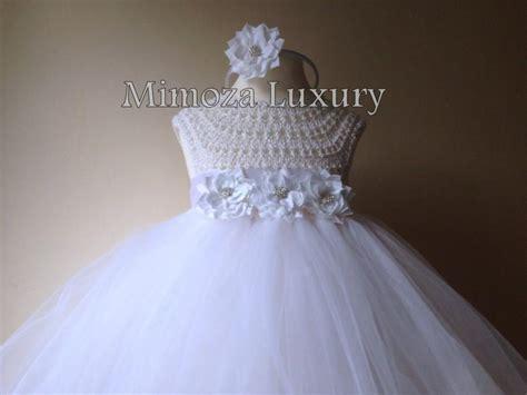 White Flower Crochet Dress crochet and tulle dress pattern free traitoro for
