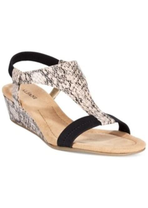 alfani alfani s vacanzaa wedge t sandals only