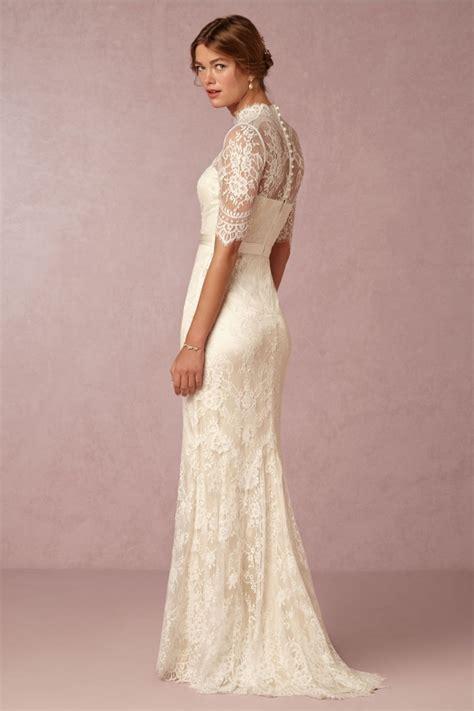BHLDN 'Bridgette' High Neck Bridal Gown   Aisle Society
