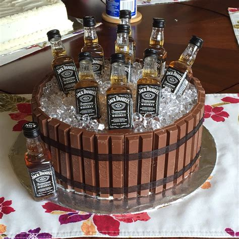 barrel cake kitkat barrel cake cakes