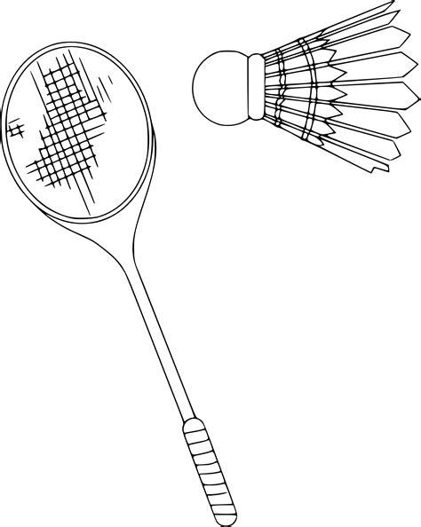 Coloriage Badminton 224 Imprimer Sur Coloriages Info