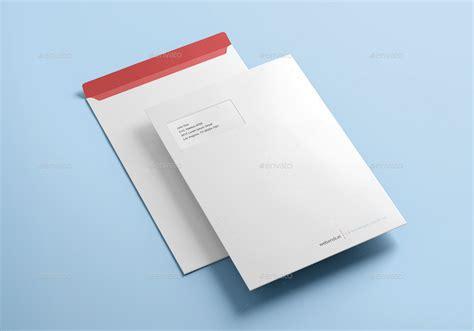 envelope design mockup envelope c4 mock up by webandcat graphicriver