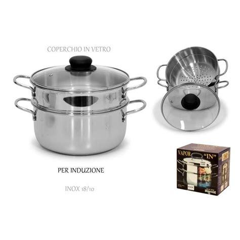 pentole per cucina a vapore sinsin pentola ad induzione per cottura a vapore acciaio