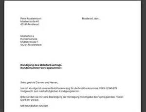 Abofalle Musterbrief Telekom K 252 Ndigung Handyvertrag Vorlage Freeware De