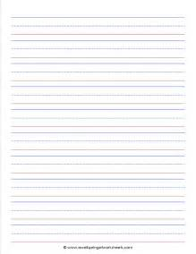 handwriting lines template best photos of kindergarten handwriting paper printable
