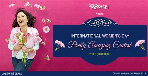 s day contest international women s day pretty amazing contest