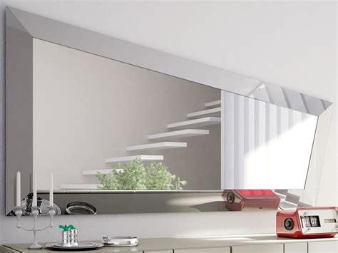 cornici cristallo look l specchio moderno con cornice in cristallo