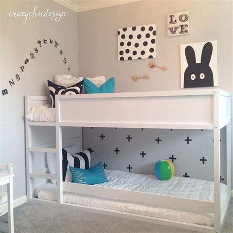 Shared Girls Bedroom Ideas mommo design 8 ways to customize ikea kura bed kids