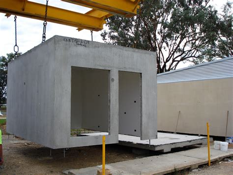 Slab House Plans by Precast Concrete Modules
