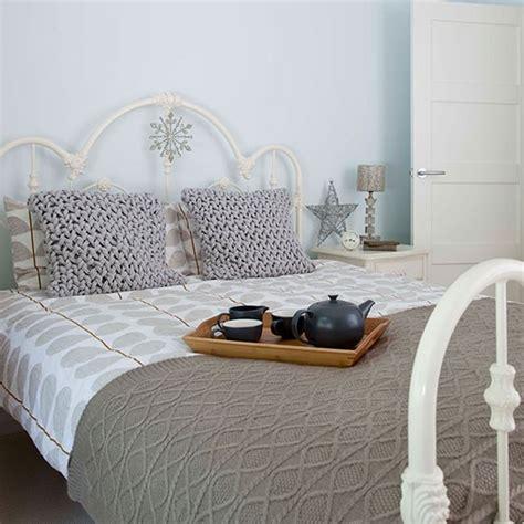 pale blue bedroom pale blue bedroom with taupe bedlinen decorating
