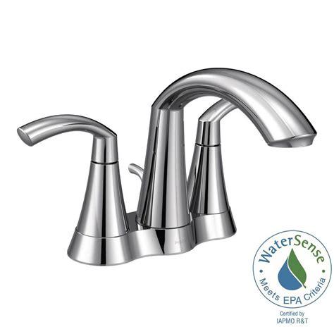moen bathroom faucets home hardware moen glyde 4 in centerset 2 handle bathroom faucet in chrome 6172 the home depot
