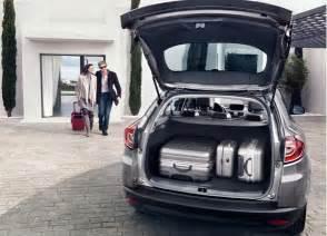 Renault Scenic Luggage Space Renault Megane Estate Vehicle Information Renault