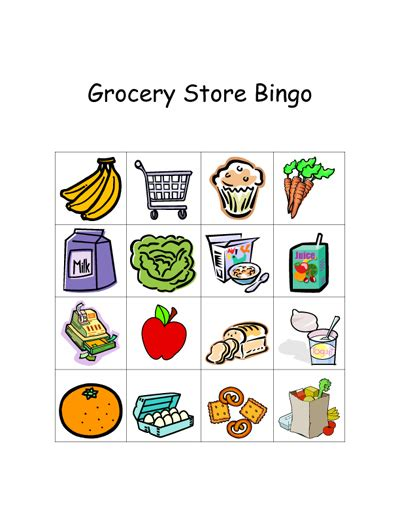printable shopping list game grocery store games let s explore