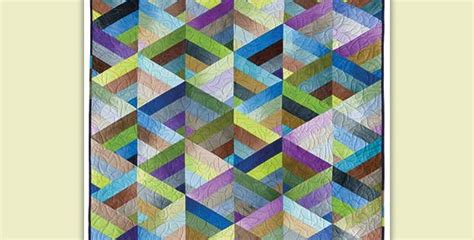 Dimensional Quilt Patterns by This Quilt Almost Seems 3 Dimensional Quilting Digest
