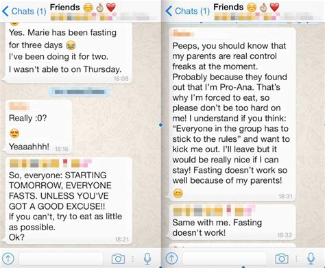 self harm chat rooms i spent a week undercover in a pro anorexia whatsapp vice