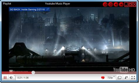 youtube full screen layout create and play youtube music playlist youtube music player