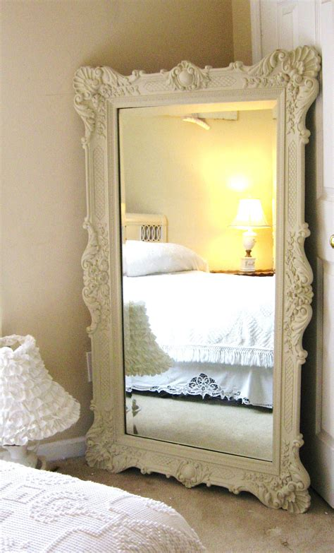 mirrors for bedroom vintage leaning mirror classic bedroom interior design