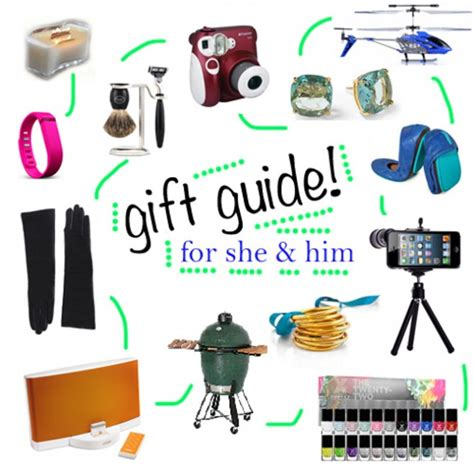 2013 holiday gift guide his and hers how sweet it is