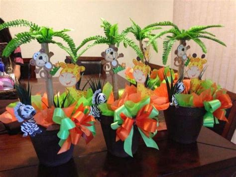 Safari Jungle Baby Shower Decorations by 31 Jungle Theme Baby Shower Table Decoration Ideas
