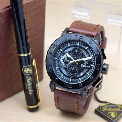 Jam Tangan Pria Merk Luminox jual jam tangan tetonis original pria tali kulit harga murah
