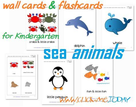 Free Printable Sea Animals Flashcards Sea Animals Wall Cards | free printable sea animals flashcards sea animals wall cards