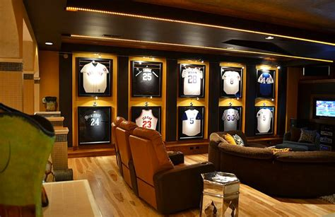 Diy Cozy Home Decorating sports man cave ideas for the real player in you
