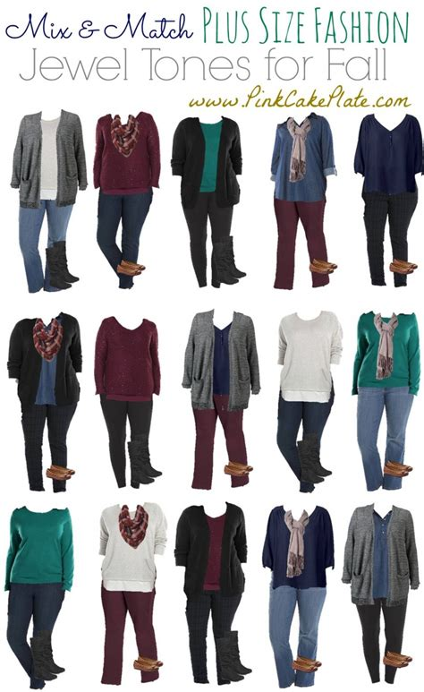 plus size mix and match mix and match plus size fashion tones