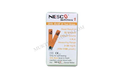 Uric Acid Asam Urat Nesco nesco uric acid ekomed
