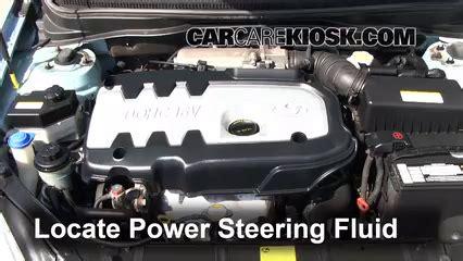 Hyundai Power Steering Fluid by Fix Power Steering Leaks Hyundai Accent 2006 2011 2007