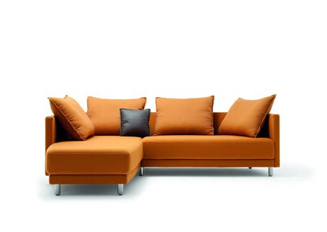 cool sofa orange color sofa free shipping modern design best living