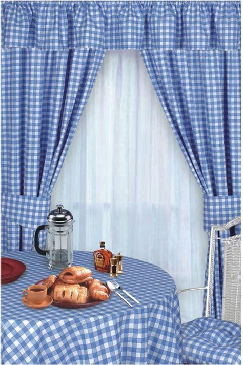 vorhang draperie nahen gardinen k 252 che blau pauwnieuws