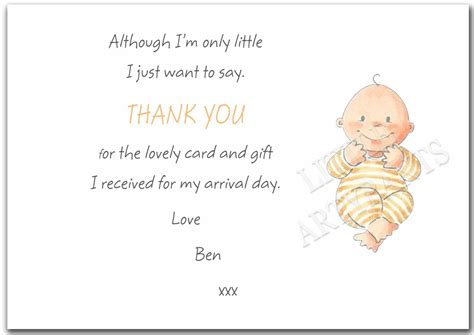 Sle Thank You Card For Baby Gift - thank you letter baby gift sle 28 images note cards thank you for the baby gift