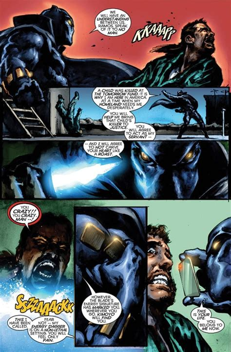 black panther by christopher christopher priest made black panther cool then disappeared