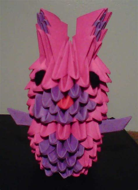 3d Origami Bunny - 3d origami bunny by crochetamommy on deviantart