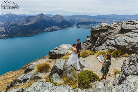 Wedding Ceremony Queenstown by Queenstown Wedding Mountain Wedding Ceremony On The Ledge