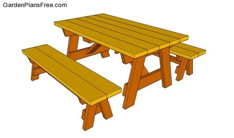 free picnic table plans with separate benches download picnic table plans free separate benches plans free
