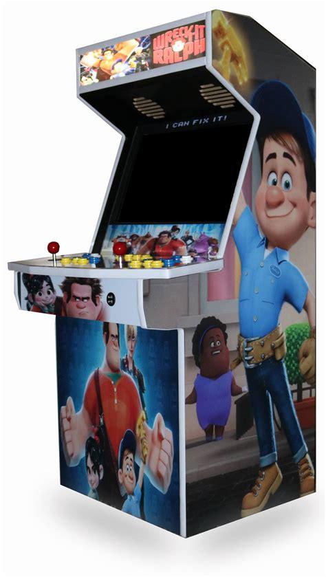 level   size arcade cabinet kit   monitor