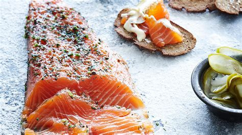 Kitchen Design Your Own Salmon Gravlax With Dijon Cr 232 Me Fra 238 Che Dressing And