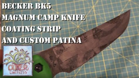 becker bk5 becker bk5 magnum c knife coating and custom