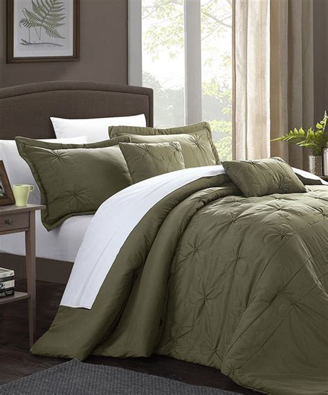 Olive Bedding by Olive Arabella Floral Quilted Appliqu 233 Comforter Set